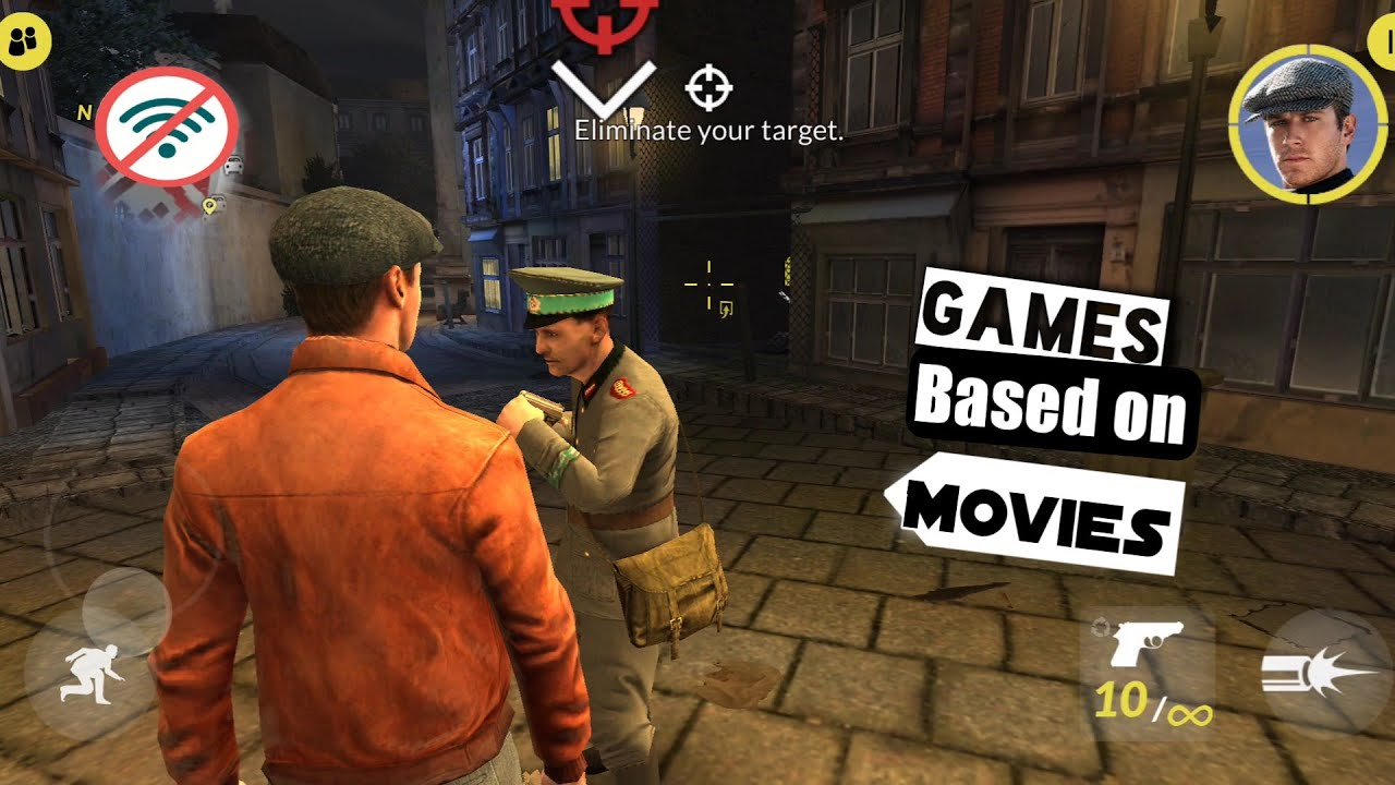 Download Top 20 Movie Based Games On Android HD Offline || High Graphics Movie Games For Android