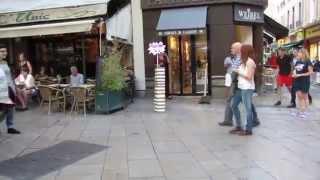 "Flashmob IAE Aix MSc Com and Change - ""Com' & Rock"""
