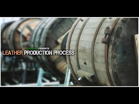 WOODLAND Presents - Leather Production Process