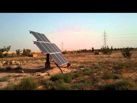Solar Water Pump Afghanistan (installed by WASEL/AGT team)