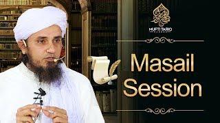 Friday Q&A Time, April  12, 2019, | Mufti Tariq Masood
