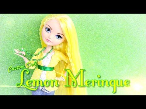 DIY - Custom Doll: STRAWBERRY SHORTCAKE Lemon Meringue - Handmade - Doll - Crafts