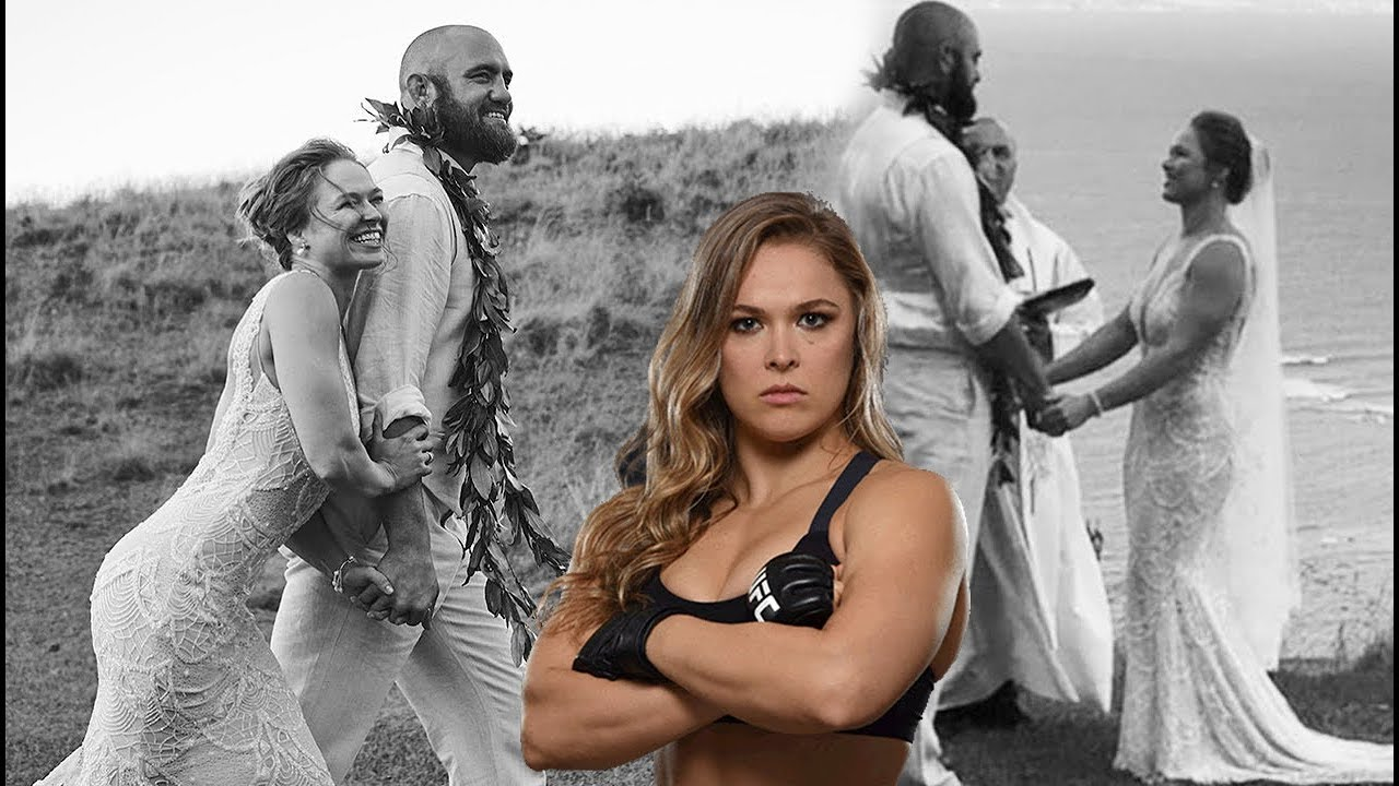 Ronda Rousey Just Got Married To Travis Browne