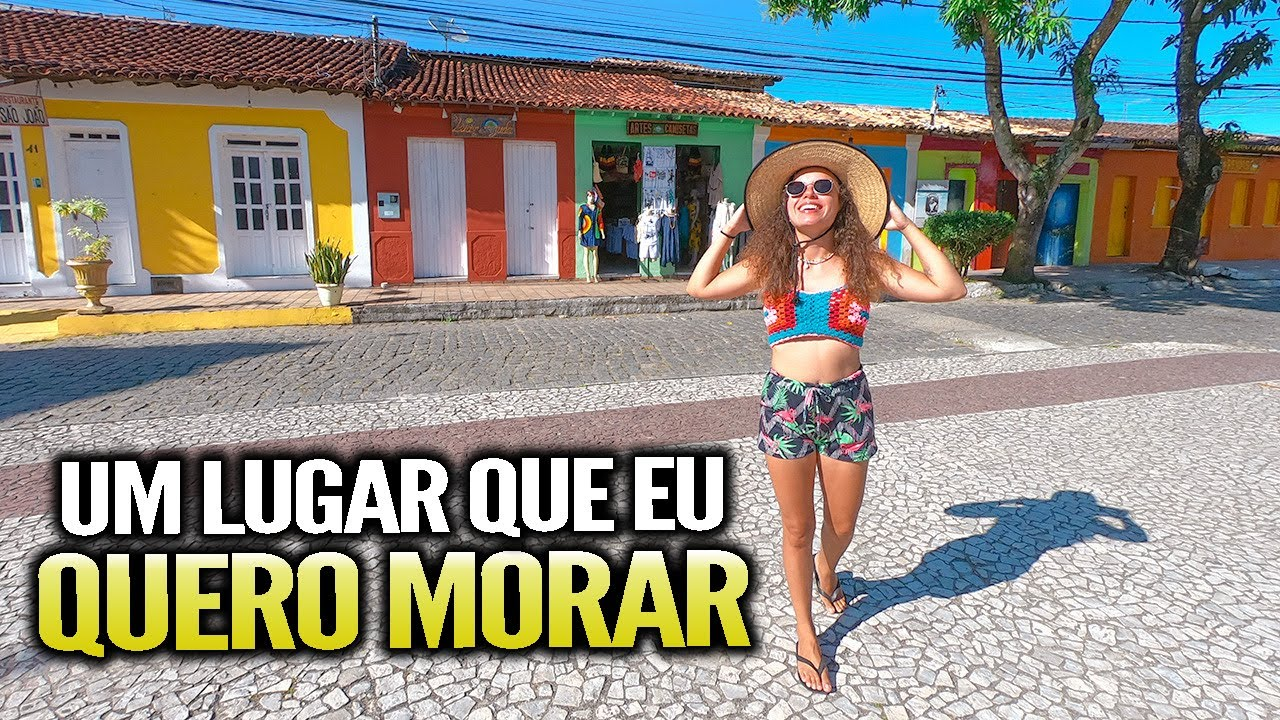Um lugar DIFERENTE DE TUDO no Brasil - Arraial D'ajuda,Bahia