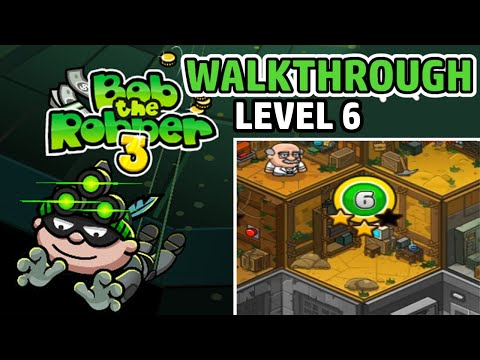 bob-the-robber-3---level-6---let's-play-/-walkthrough