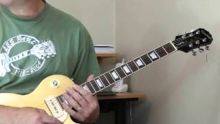Billy Butler Guitar Lesson #1  - Double Stops
