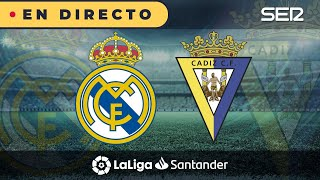 ⚽️ Real Madrid 0 - 1 Cádiz |  La Liga en vivo