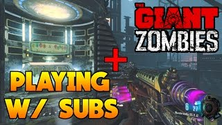 'THE GIANT' HIGH ROUNDS + FIRST ROOM CHALLENGES W/ SUBS! ~ Black Ops 3 Zombies [Livestream Replay]