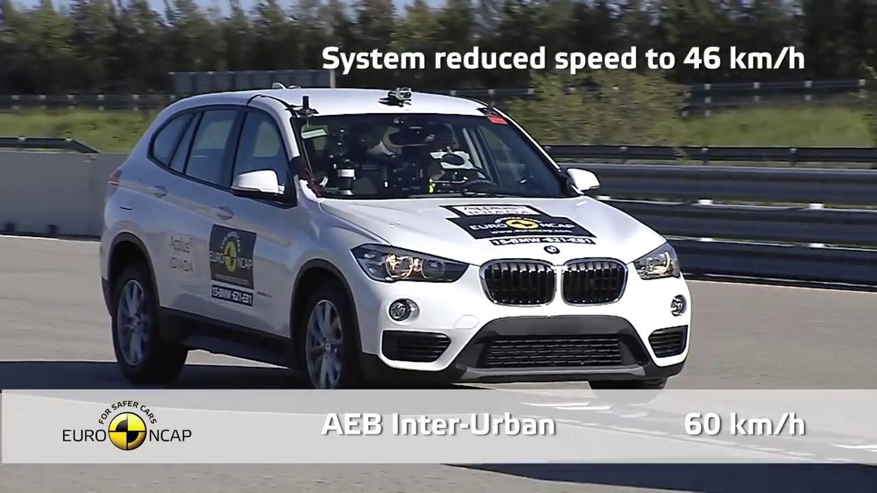 001e863af799 2018 BMW X1 KAZA TESTİ   Euro NCAP Crash Test of BMW X1 X2 - YouTube