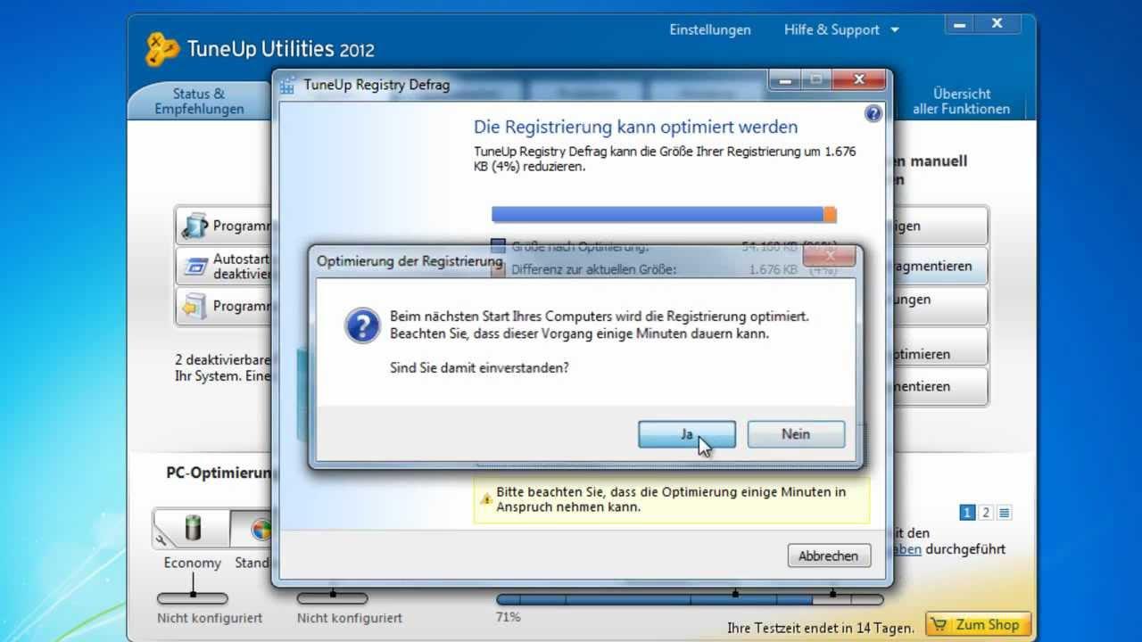 tuneup utilities 2012 vollversion