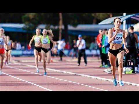 Лекгоатлетка из Югры дважды выиграла золото на первенстве России по лёгкой атлетике