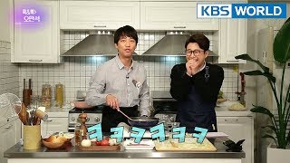 Cook & Talk with Oh Manseok [Entertainment Weekly/2018.04.23]