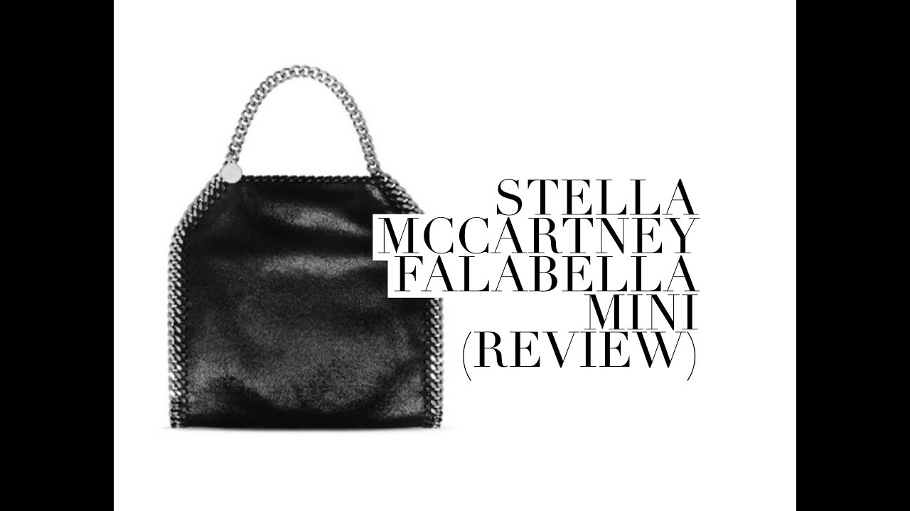 STELLA MCCARTNEY FALABELLA MINI BAG (1 YEAR REVIEW)   Tass - YouTube f4d1130d66