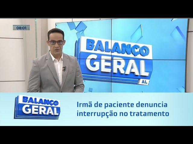 Máquina quebrada: Irmã de paciente denuncia interrupção no tratamento por falta de exame