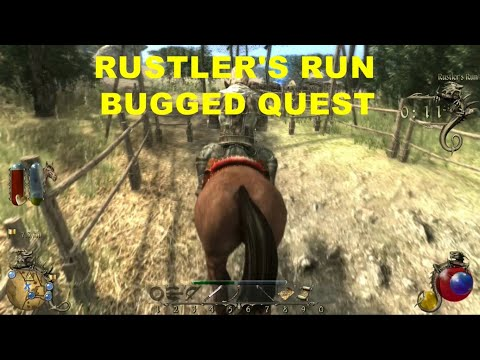 TWO WORLDS II  EPIC EDITION   RUSTLER'S RUN  BUGGED QUEST |