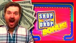Shop Til You Drop Slot Machine 🎁 LIVE PLAY & BONUSES With SDGuy