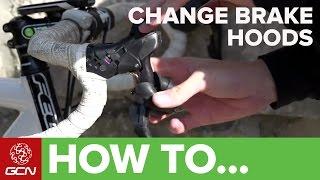 How To Change Shiṁano STI Lever Hoods