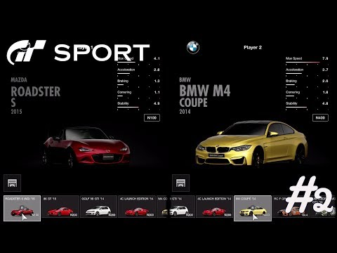 Gran Turismo Sport - 2 Player Split Screen w/ Michelle - #2