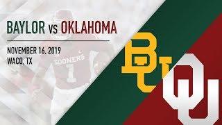 OU Highlights vs Baylor (11/16/2019)