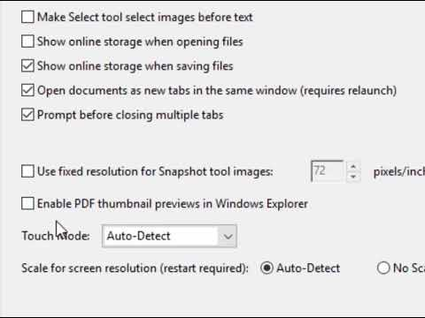 How To Get Adobe Acrobat Reader To Display PDF Thumbnails In Explorer