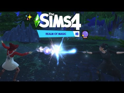WE GOT WANDS| 🔮The Sims 4 Realm Of Magic✨ #3 |