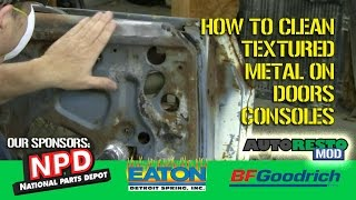 How To Clean the door grain on Classic Mustangs Episode 311 Autorestomod