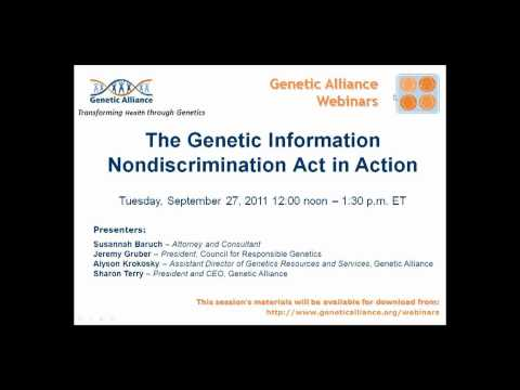 The Genetic Information Nondiscrimination Act in Action