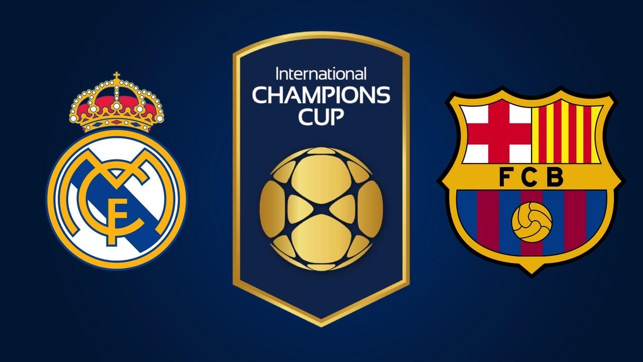 PFA] ICC Final: Real Madrid CF vs FC Barcelona - YouTube