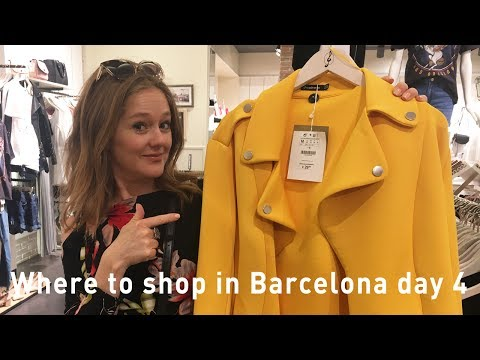 Barcelona shopping 2017 - where to shop in Barcelona - luxury, outlet,  high street