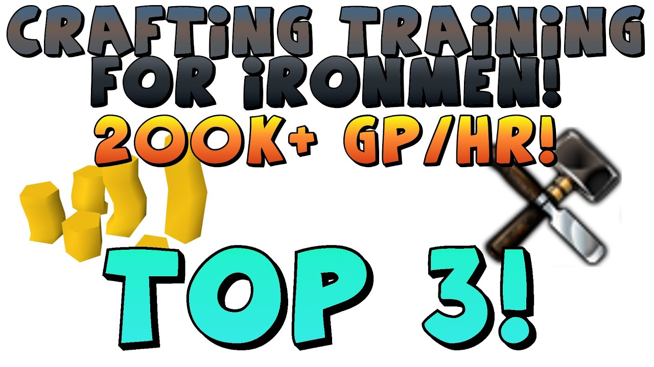 TOP 3: Crafting Training Methods for Ironman Mode [1080p