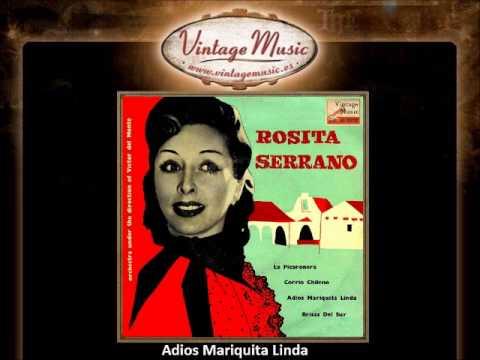 Rosita Serrano -- Adios Mariquita Linda (VintageMusic.es)