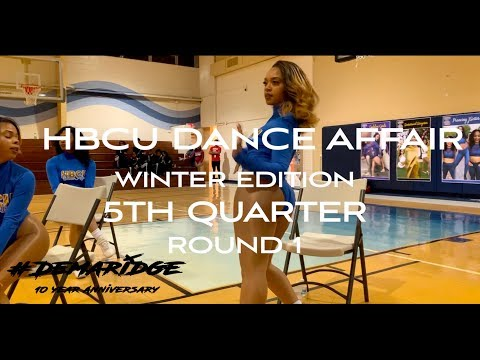 HBCU Dance Affair 5th Quarter | Round 1| Winter Edition
