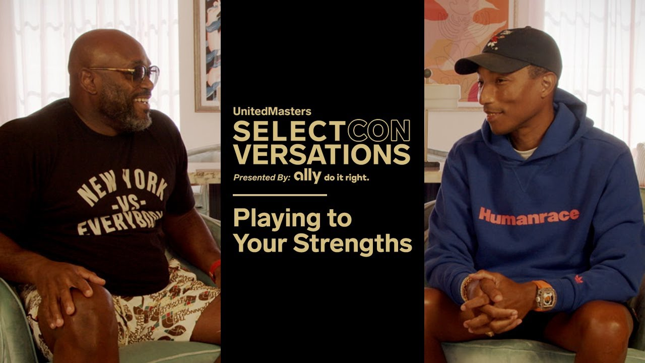 Pharrell Williams on Playing to Your Strengths to Succeed in Music & Business | vizo.tv