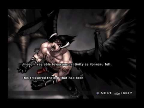 Tekken 5 Devil Jin Prologue And Epilogue Youtube