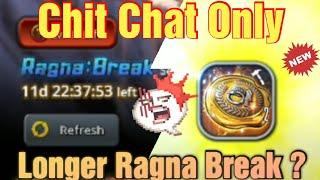 Destiny Child Global Just Chit Chat about this Ragna Break Procel...