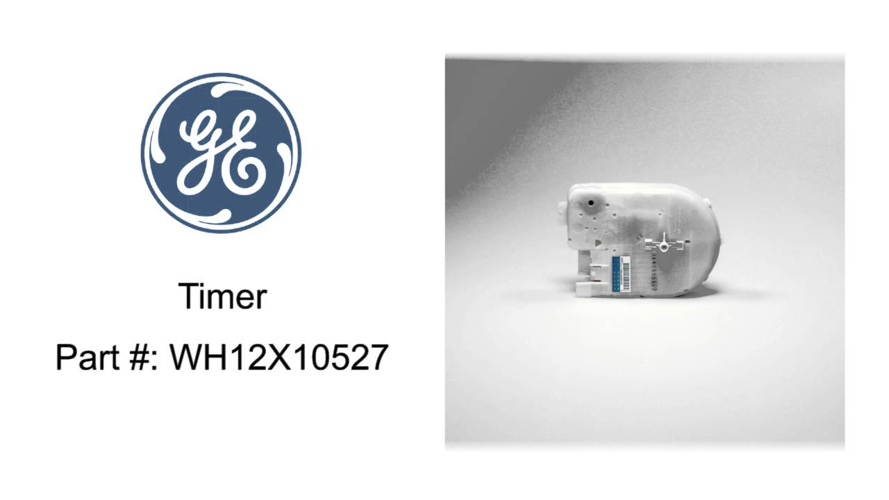General Electric Timer Part #: WH12X10527 - YouTube
