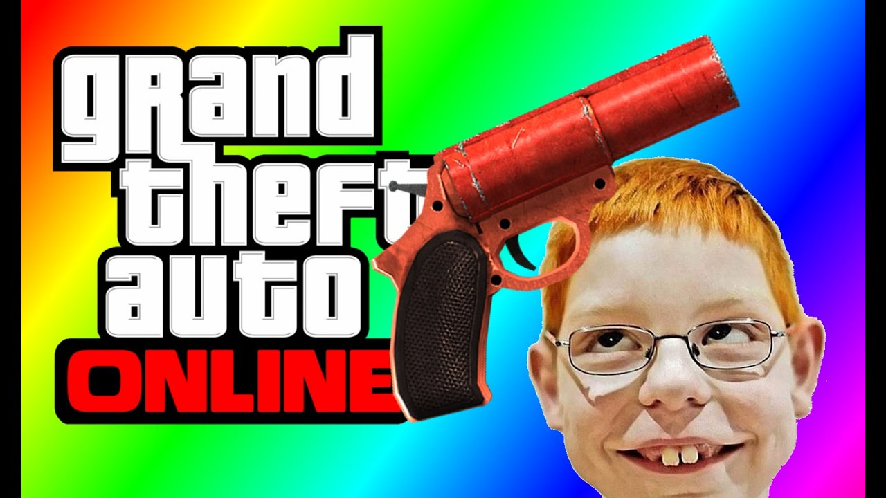 how to get flare in gta 5