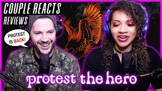 "COUPLE REACTS - Protest The Hero ""From The Sky"" - REACTION / REVIEW"