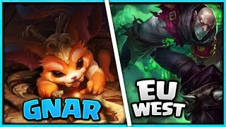 Singed vs Gnar l EU West l Elmas ELO