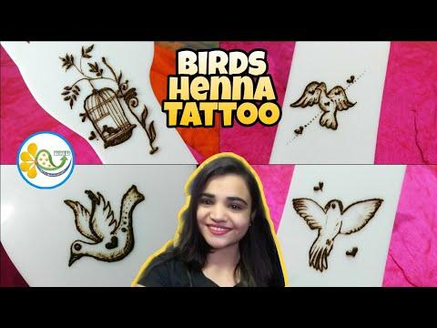 Henna Tattoo Designs Birds Mehndi Tattoo Designs Cute Birds Tattoo