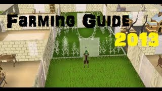 Runescape Ultimate 1-99 Farming Guide - Fastest Method - EOC Runescape 2015