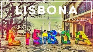 Cosa vedere a Lisbona in due giorni - scoprire il Portogallo 4K  ENG Subs