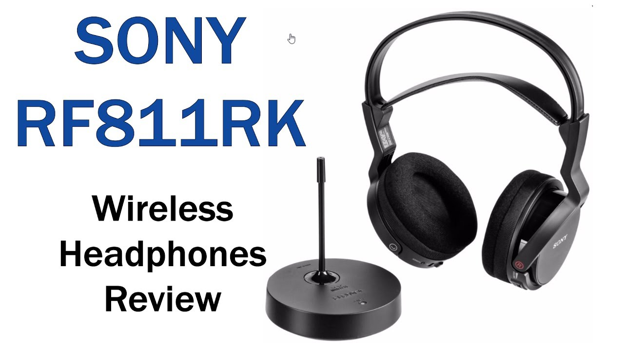 Sony mdr-rf810rk headset wireless -unboxing, portugues-brasil (hd.