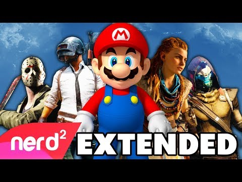 The 2017 Gaming Rap Up | #NerdOut | The Best Games of 2017 [Extended Edition]
