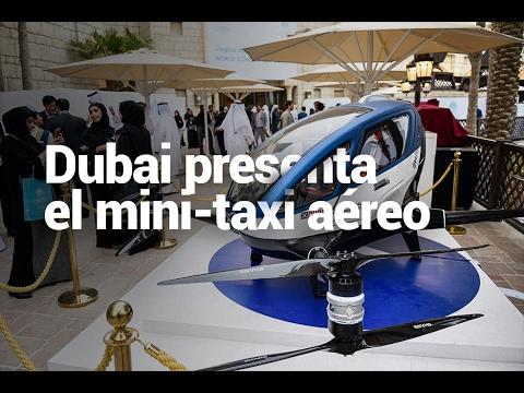 Dubai prueba un mini-taxi aéreo sin conductor