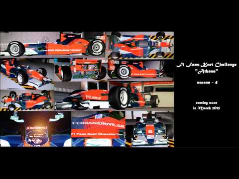 coming soon - season 4 - f1 fans kart challenge '' Athens ''