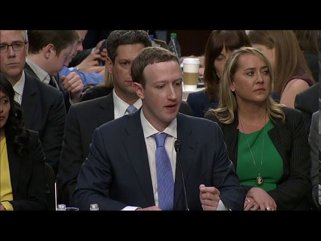 Facebook CEO Mark Zuckerberg batted away often-aggressive questioning Tuesday from lawmakers who accused him of failing to protect the personal information of millions of Americans. (The Associated Press)