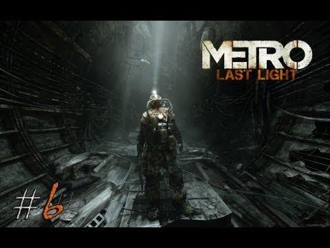 Смотреть прохождение игры Metro: Last Light. Серия 6 - В плену.