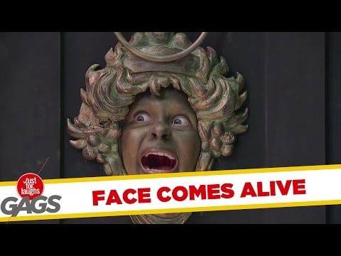 Face Door Knocker Comes to Life