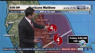 Hurricane Matthew 5 a.m. Thursday update (10/6/16)